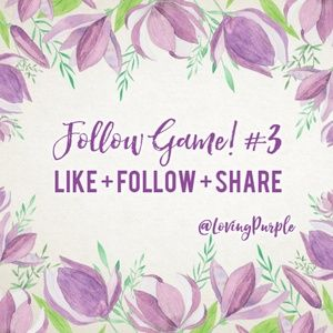 Follow Game! Please Share & Tag! Let's All Grow!